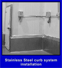 Metfab Stainless Steel Wall Curbs